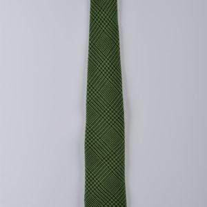 Cravatta in lana personalizzata tinta in filo