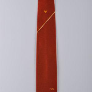 Cravatta con lavorazione jacquard